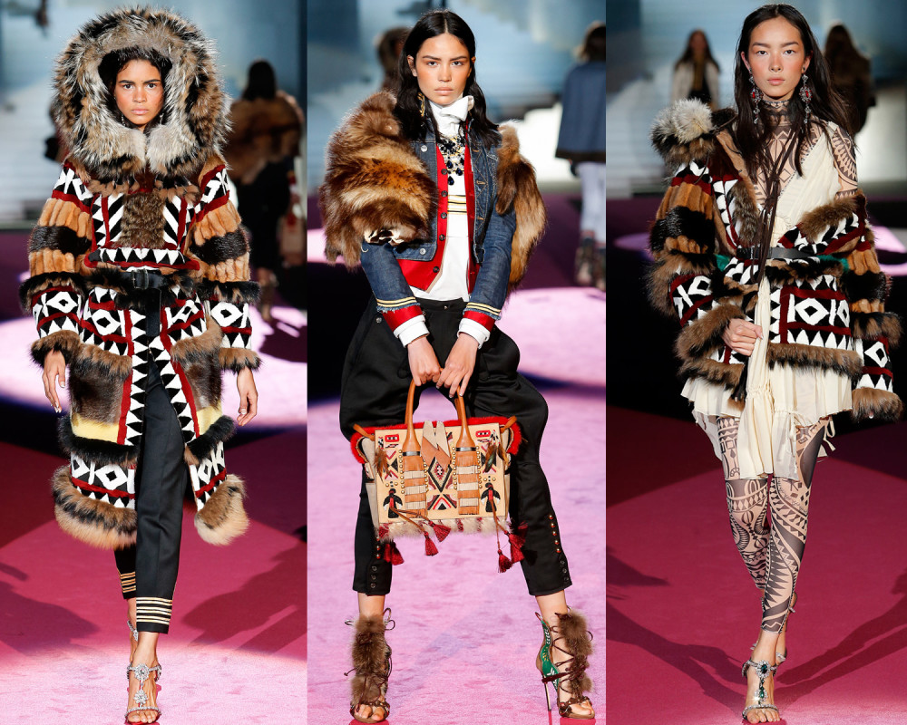Dsquared2 Fall 2015 Dsquaw collection (Image© Dsquared2)