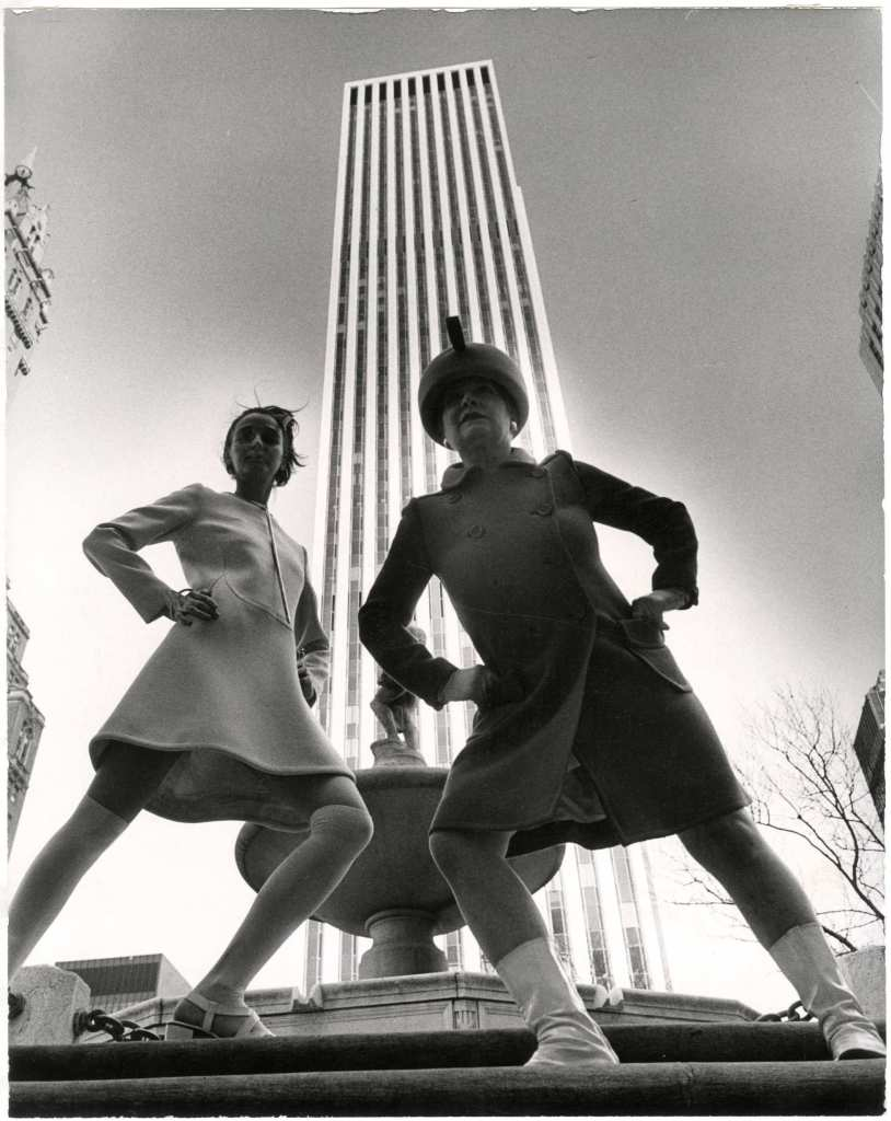 Gelatin silver photograph at New-York Historical Society (photograph by Bill Cunningham)