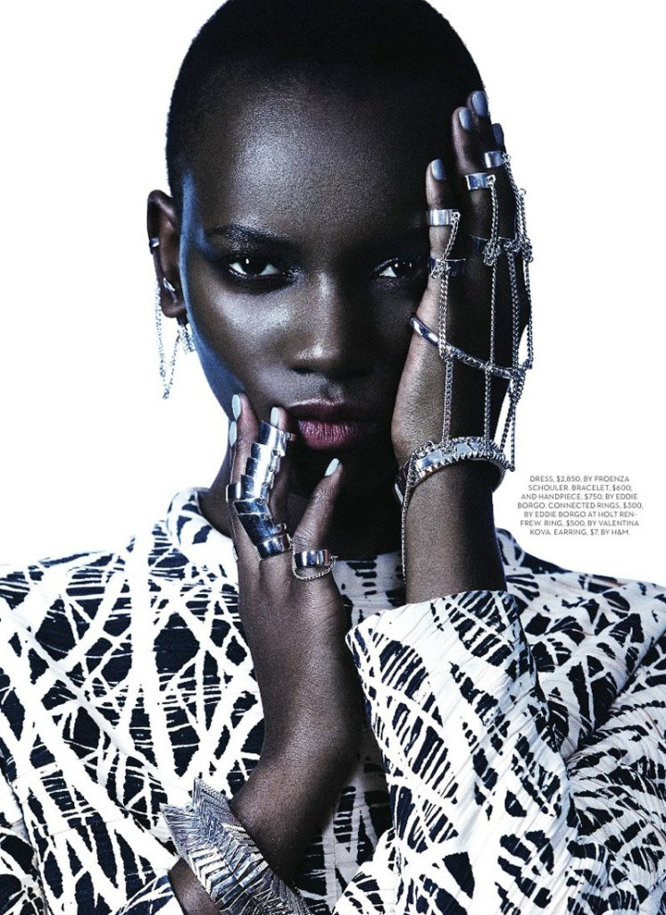 [Image: Fashion magazine/Gabor Jurina]