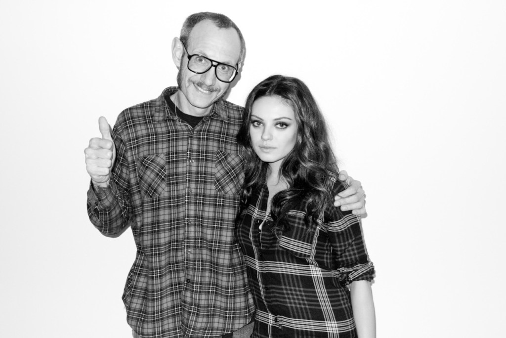 Actress Mila Kunis with Terry [Image: Courtesy of Harpers Bazaar]