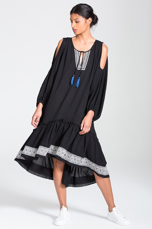 Kafa Midi Dress [Image: Courtesy of lemlem]
