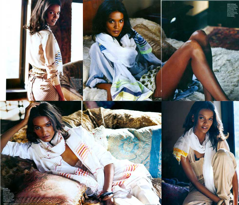 [Image: Courtesy of lemlem / Elle Italy]