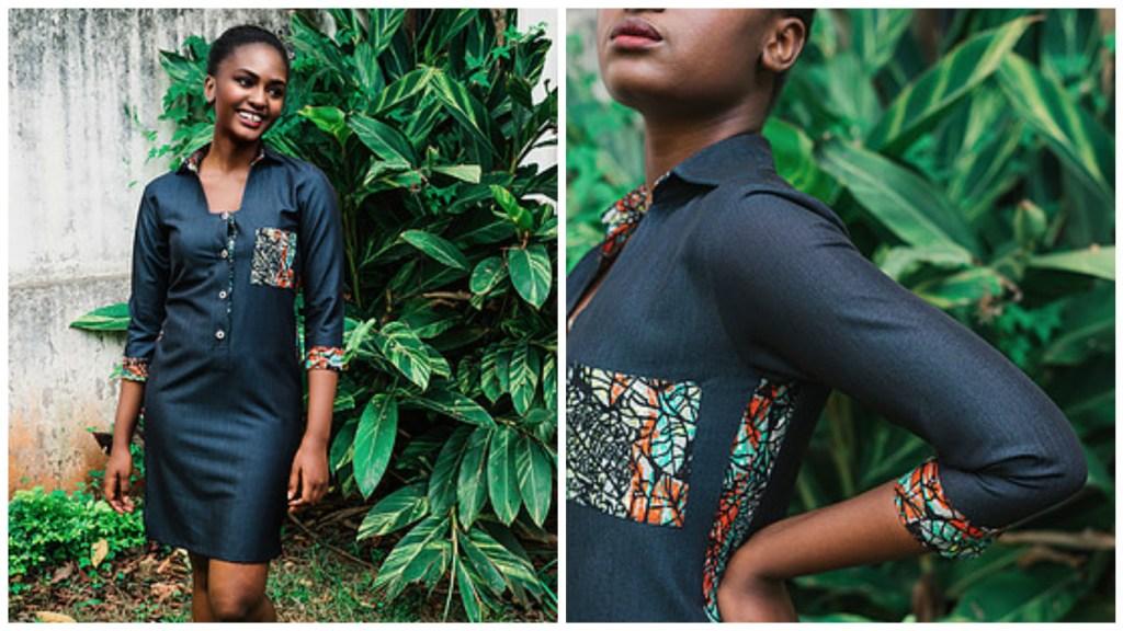 Tandaze Shirt Dress [Images: Courtesy of Mambo Pambo / Brian Siambi]