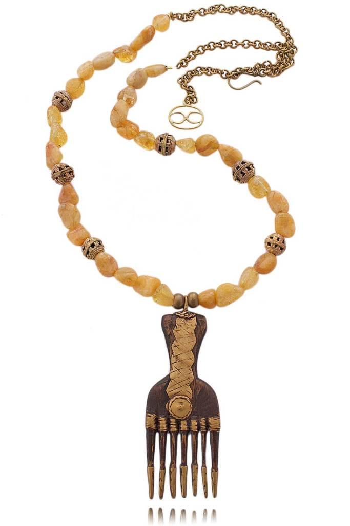Crispina Necklace [Image: Courtesy of Shikhazuri]