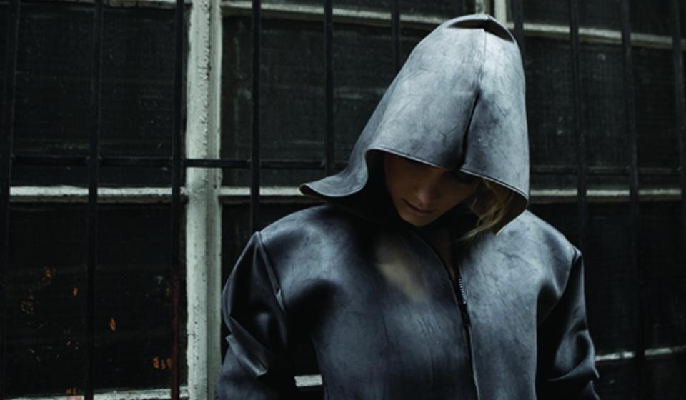 THEUNSEEN pollution absorbing jacket [Image: Lauren Bowker]