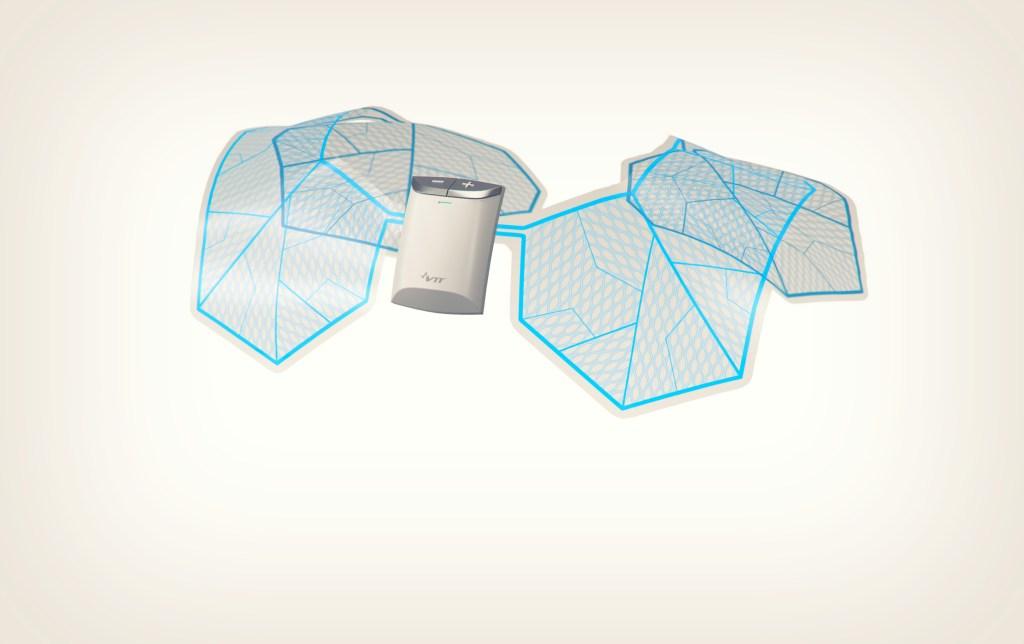 The VTT Shirt Technology [Image: Courtesy of VTT]