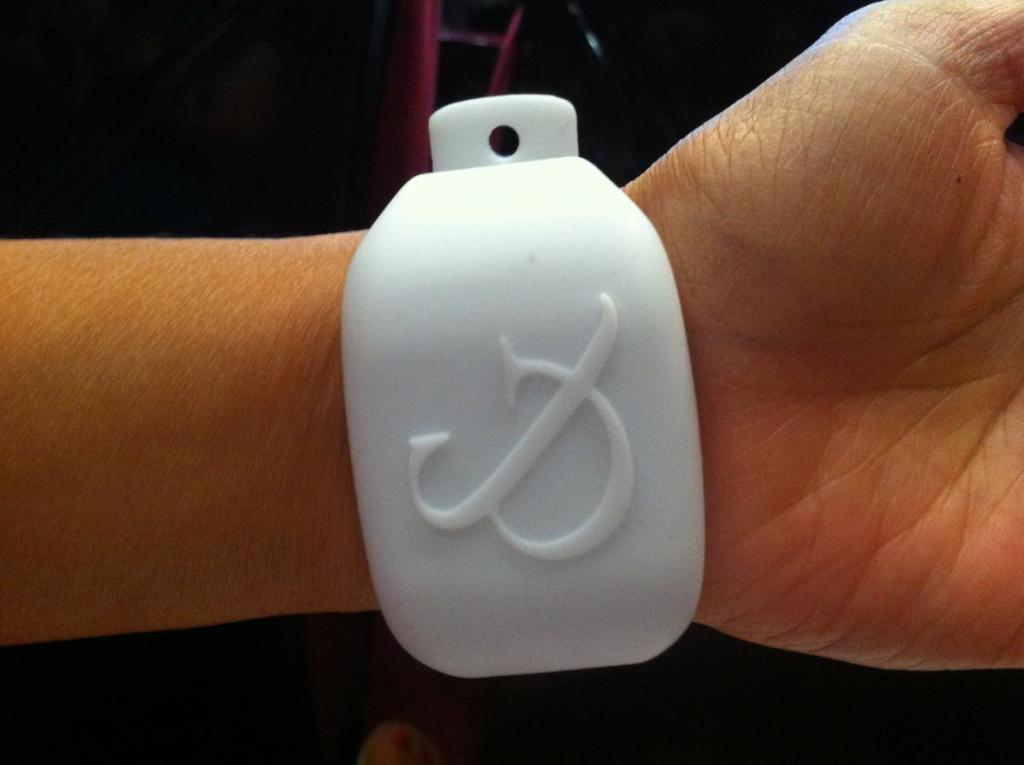 Saatchi and Saatchi Wristband [Image: AdAge]