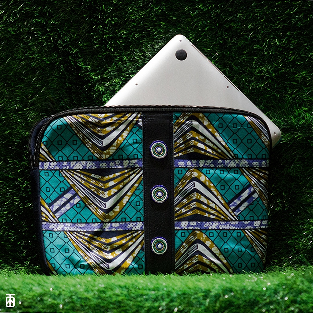 Laptop Sleeve by Zizi Africa - Image(c)TheDesignersStudio