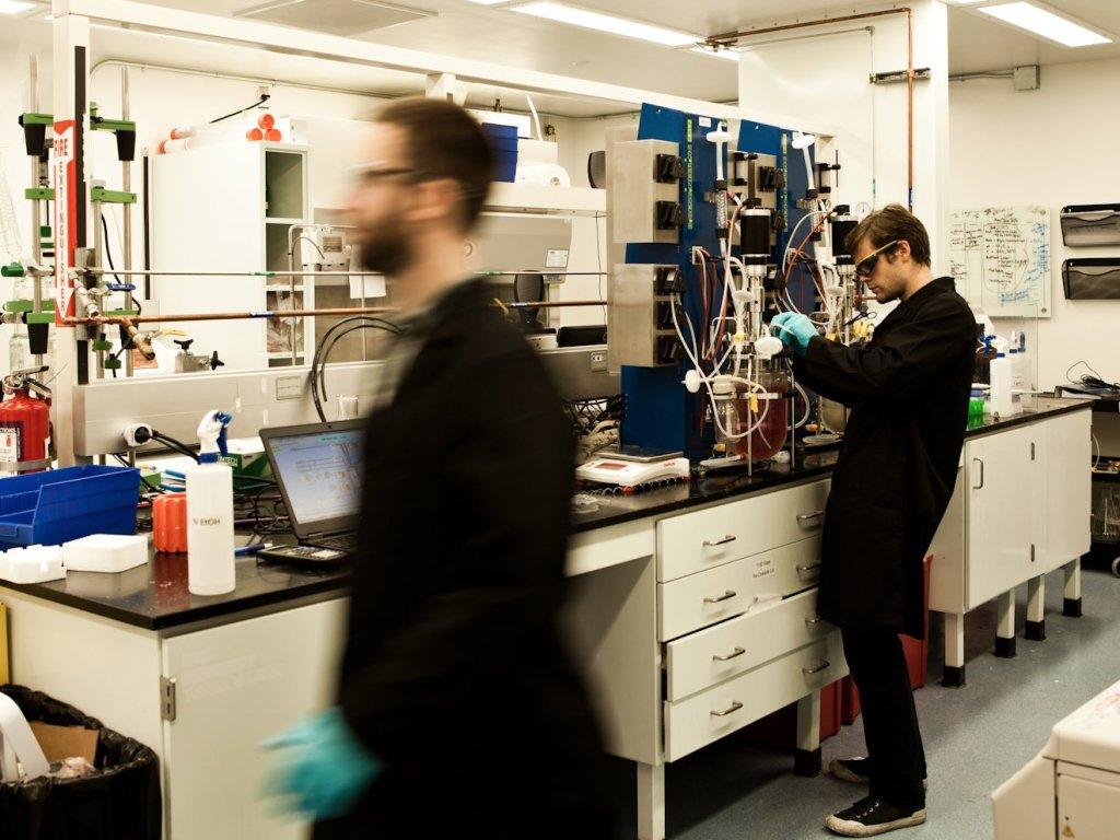 Modern Meadow Lab [Image: Business Insider]