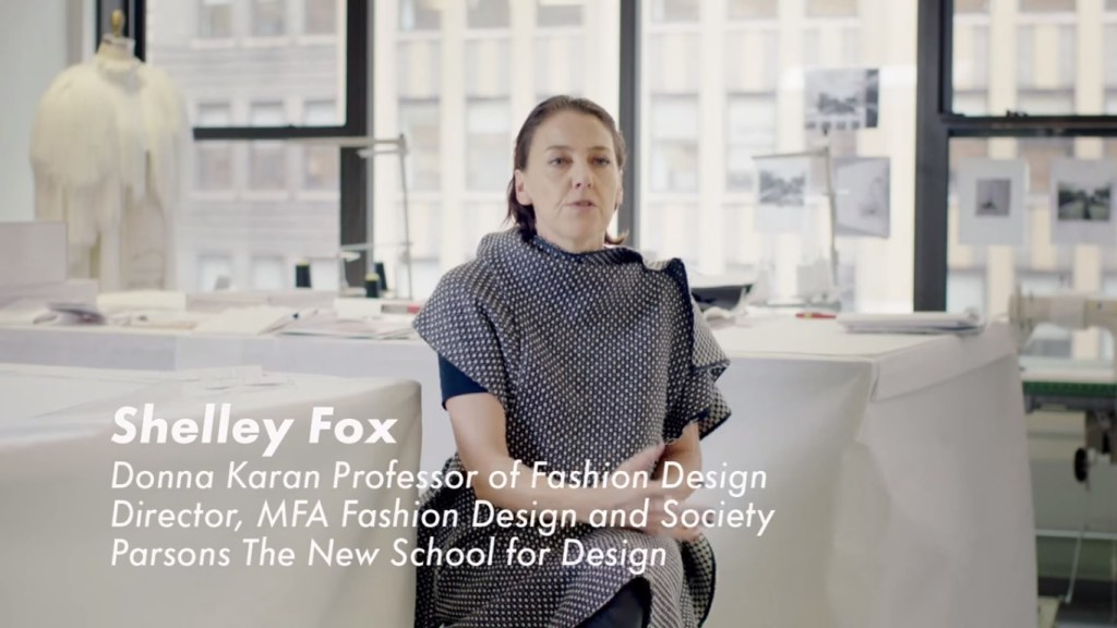 [Image: Screenshot from the 'Future Fashion' film]