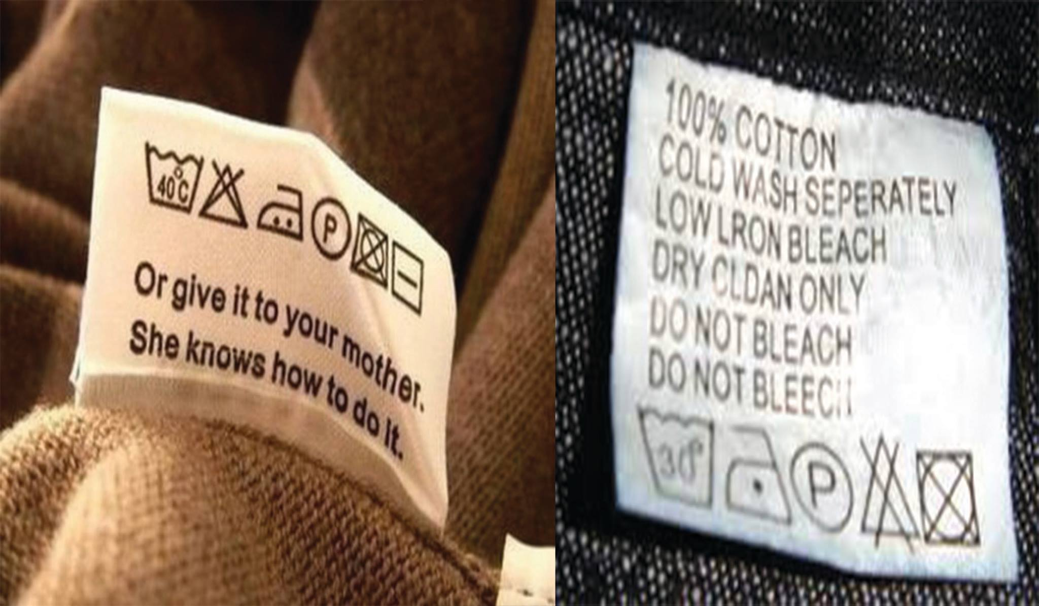 What Mean The Symbols Of The Clothing Labels After Reading