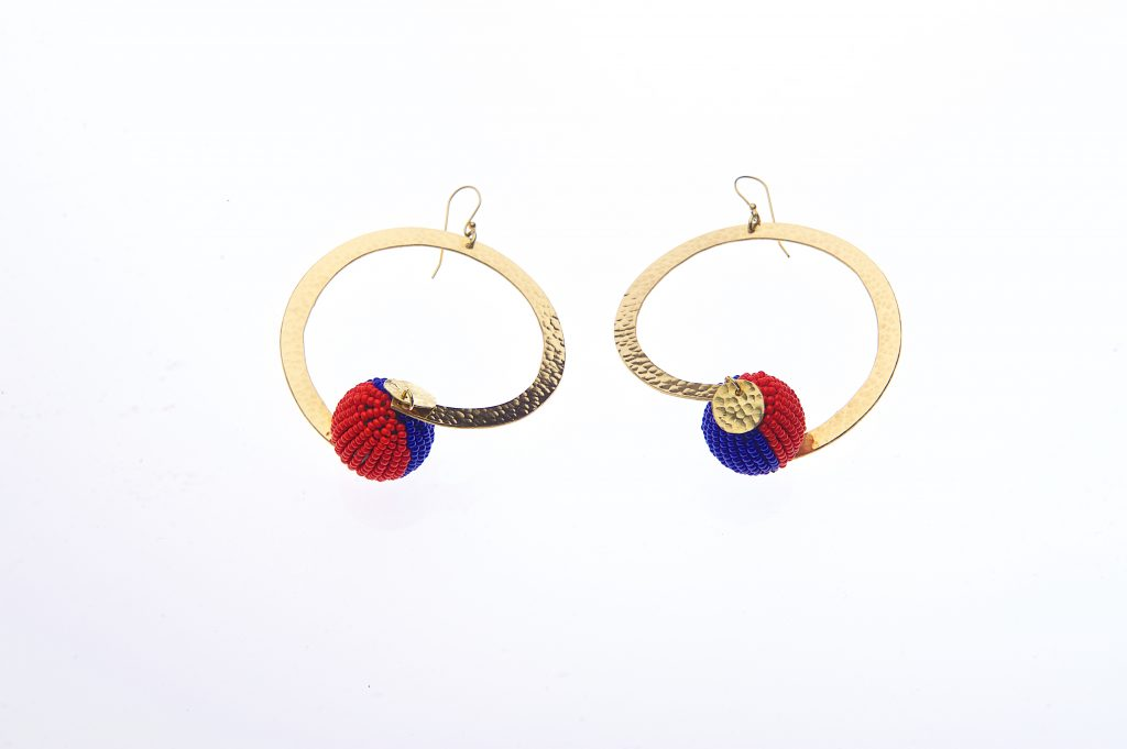 New African Avantgarde Collection Earrings [Image: Barbara Minishi Photography]