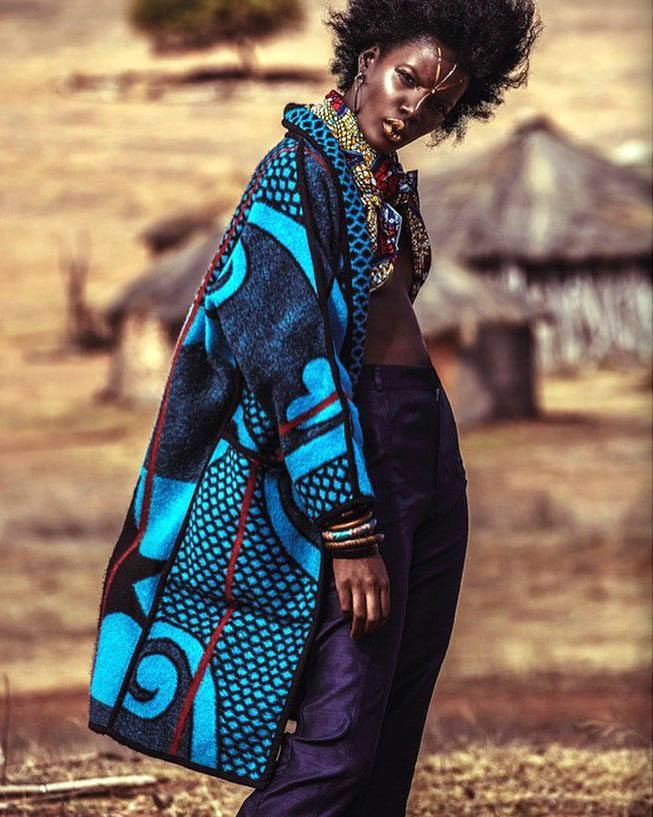 Basotho Blanket Coat
