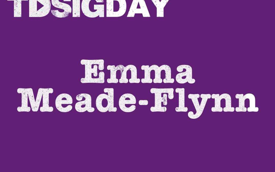 SIG Day speakers – Emma Meade-Flynn