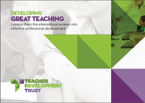 PRESS RELEASE: MIND THE GAP IN TEACHER CPD