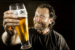 Bloquear en Twitter: alcohol