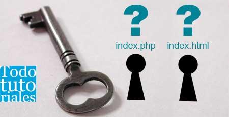 Elegir un index