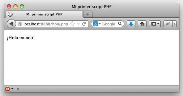 Hola.php