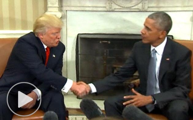 「トランプ氏成功が米の成功」オバマ大統領の発言に見る、リーダーの品格
