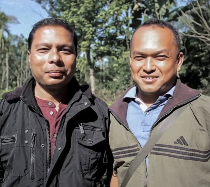 Beeman Agarwalla and Tarun Gogoi. Behind it all, there are real people – small tea growers whose innovation improves the craft and whose land stewardship protects the environment and the quality of your tea.