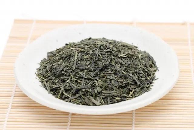 べにふうき茶 茶葉の写真