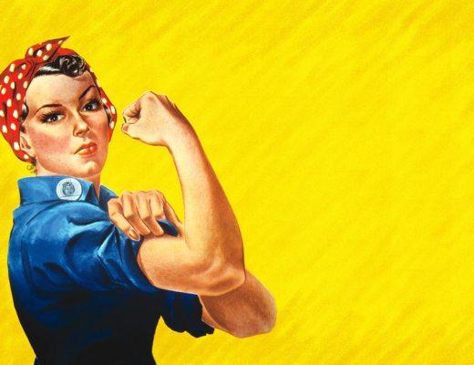 Rosie the Riveter, honey, vinegar