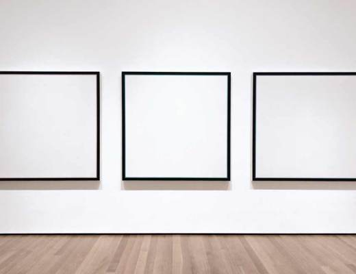 empty gallery no work all or nothing art #firstworldproblems