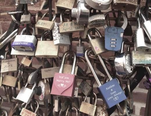 Toronto love locks memories past romance