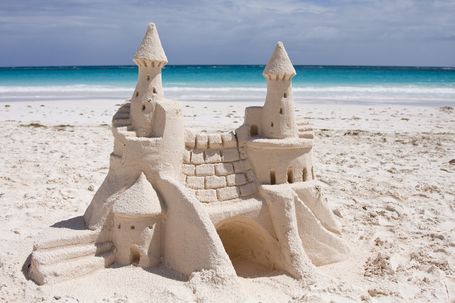 Sand Castle by Amanda B