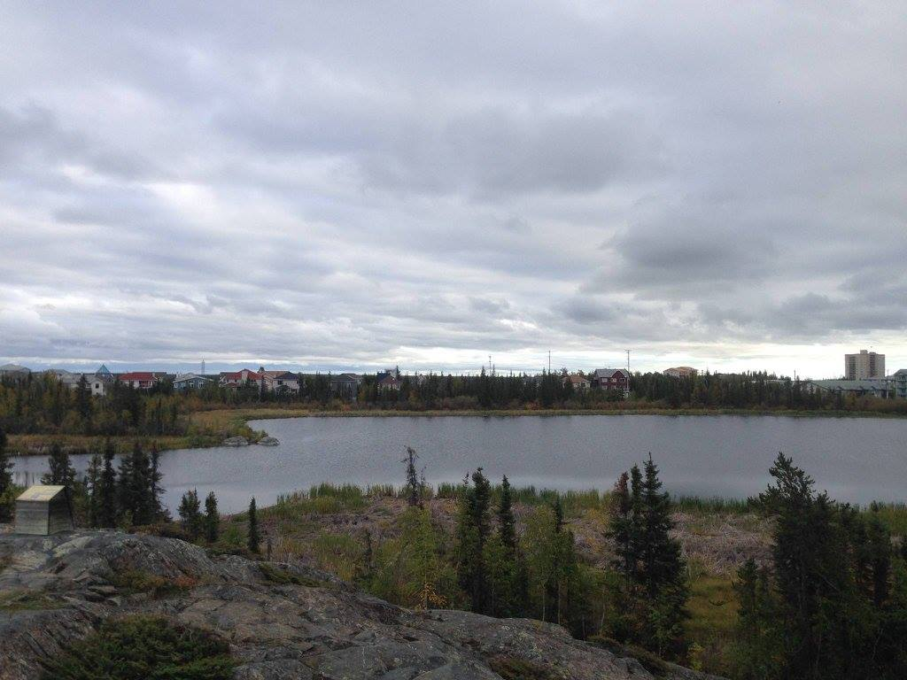 Week 12, 52 Weeks Project, Canada, Yellowknife, lake