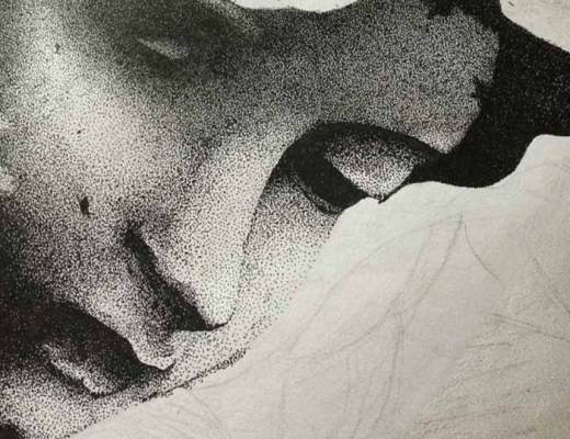 pointillism, art, breathing, breath, yoga, Cindy, meditation, relaxation