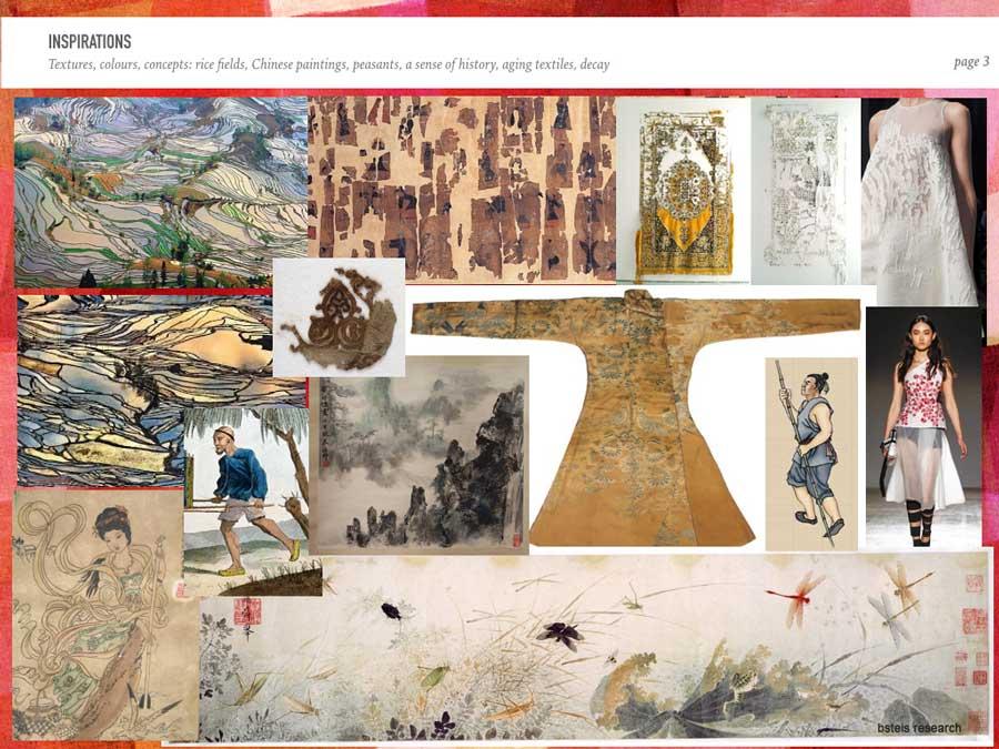 hong kong costume designer, bsteis, research, Sacred Thread