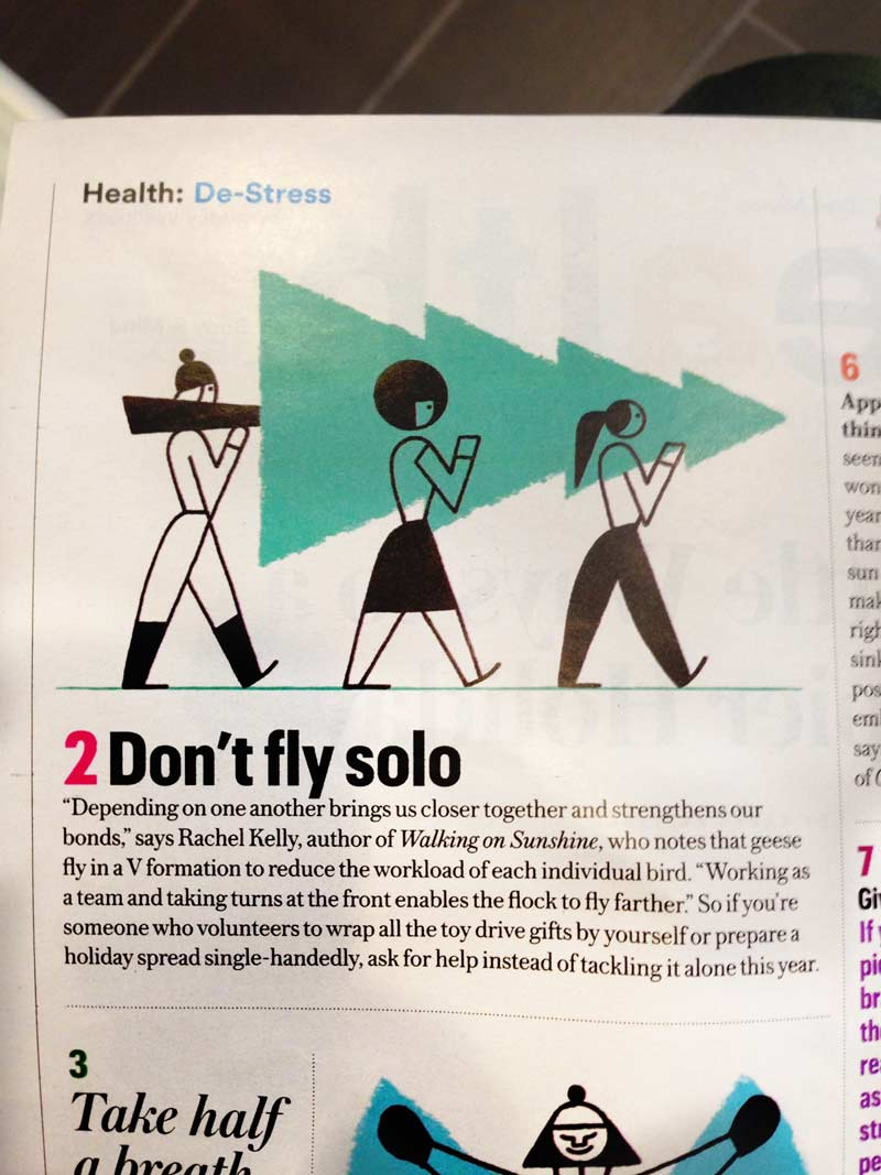Don't fly solo, interesting times