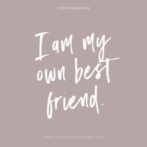 power cards, self, self-love, own best friend, best friend, friend
