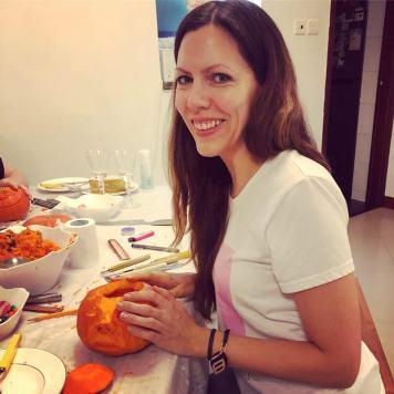 pumpkin, carving, Halloween, autumn, festivals, pumpkins, rescue dog, dog, pirate