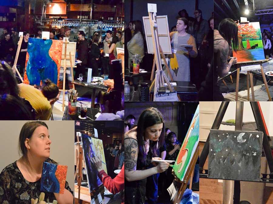 paint, painting, art, art adjacent, battle, art battle, artists