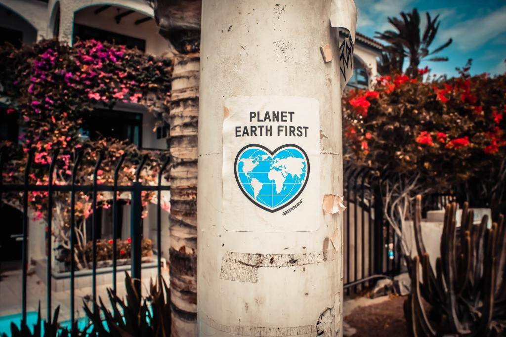 Planet earth first sign posted. Earth Day 2021
