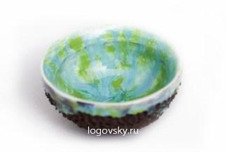 Купить пиалы для китайского чая. Пиалы для чайной церемонии. Авторская пиала ручной работы Logovsky porсelain design