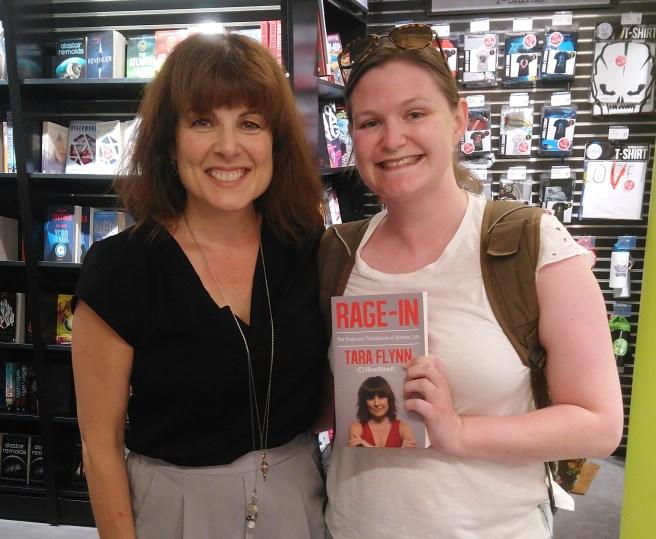 Tara Flynn and me June 2018