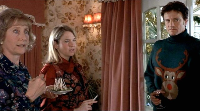Image result for bridget jones ugly christmas sweater