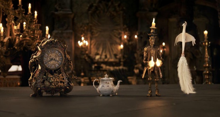 The lavish set and production of Beauty and the Beast echoes the richly-detailed symbolism of a vanitas painting.