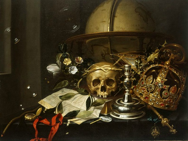 Vanitas symbolism is alive and well today in modern film, including Beauty and the Beast!