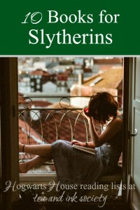 Books for Slytherins aren't as hard to come by as you might think! Here's a wide range of books that will appeal to Slytherins, for anyone who enjoys reading based on their Hogwarts House! #Slytherin #HogwartsHouses
