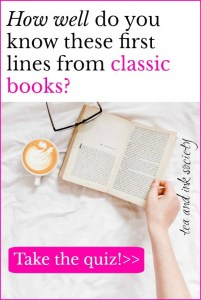 Can you guess these famous first lines from classic books? Take the literary quiz to find out! I'll give you the opening line from a classic novel, and you identify which book it comes from! #bookworm