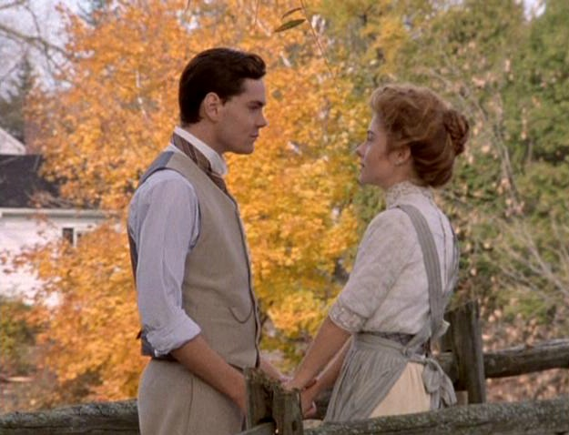 Jonathan Crombie and Megan Follows in Anne of Green Gables: The Sequel