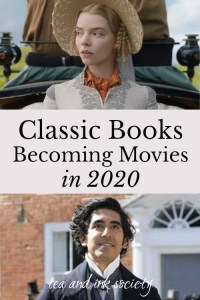 Pictures from upcoming book-to-movie adaptations of Emma and David Copperfield.