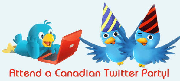 canadian twitter parties twitter party canada