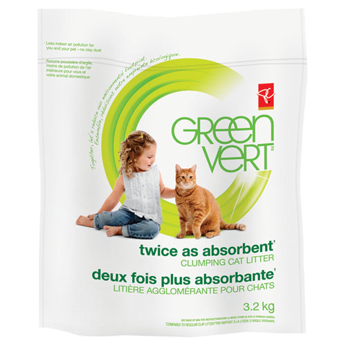 PC® GREEN™ Twice as Absorbent Clumping Cat Litter