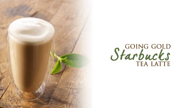 Starbucks Teavana English Breakfast Tea Latte Gold Card Bonus Stars