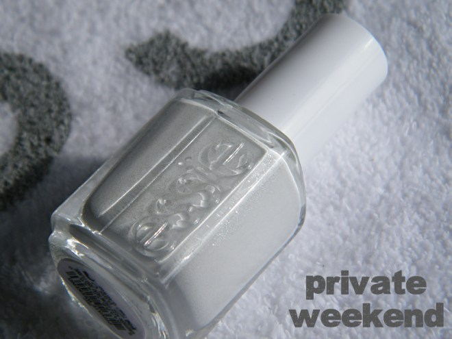 Private Weekend Swatch - Essie Peach Side Babe Collection Swatches - Tea & Nail Polish